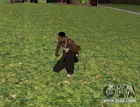 Black fam3 for GTA San Andreas third screenshot