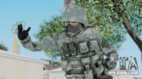 Acu Soldier 5 for GTA San Andreas