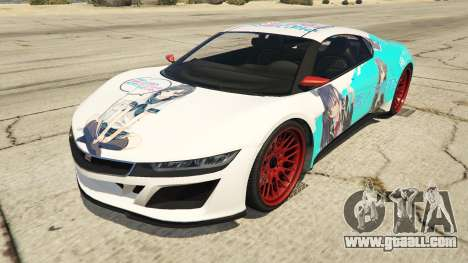 OreGairu painted Jester2 for GTA 5