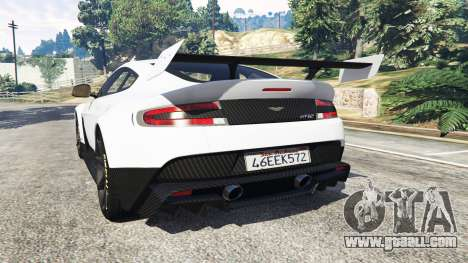 Aston Martin Vantage GT12 2015 for GTA 5