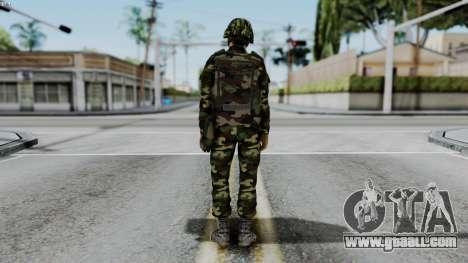 Srpski Vojnik 1999 for GTA San Andreas third screenshot
