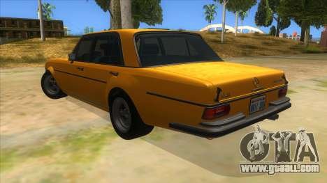 1972 Mercedes-Benz 300 SEL 6.8 AMG for GTA San Andreas back left view