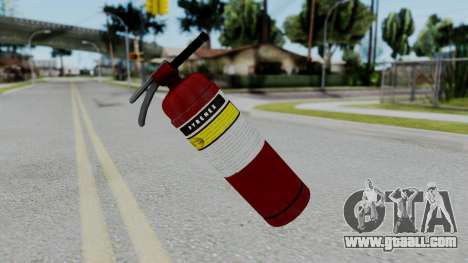 No More Room in Hell - Fire Extingusher for GTA San Andreas second screenshot