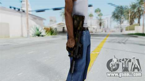 P90 Camo1 for GTA San Andreas third screenshot