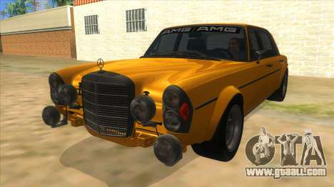 1972 Mercedes-Benz 300 SEL 6.8 AMG for GTA San Andreas