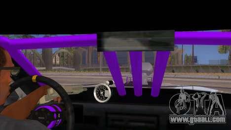 Stretch Sedan Drag for GTA San Andreas inner view