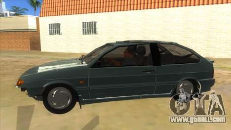 VAZ 2113 shifter for GTA San Andreas left view