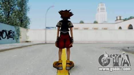 Kingdom Hearts 2 - Sora Early Costume Fix for GTA San Andreas third screenshot