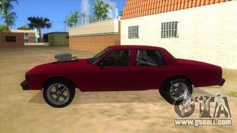 1984 Chevrolet Impala Drag for GTA San Andreas left view