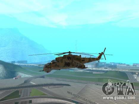 An Mi-24 At The Crocodile for GTA San Andreas