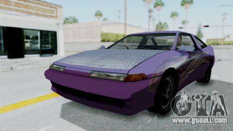 Uranus 2F2F Eclipse PJ for GTA San Andreas back left view