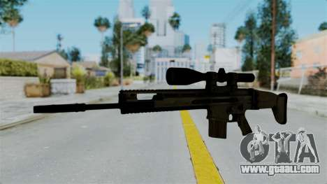 SCAR-20 v1 No Supressor for GTA San Andreas