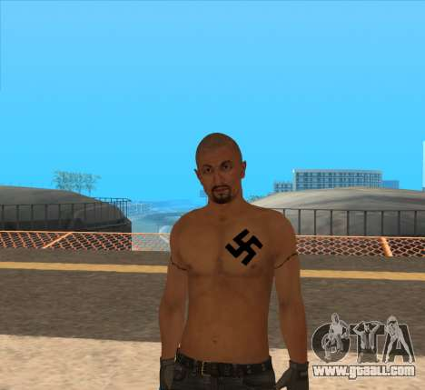 Derek Vinyard: American history X for GTA San Andreas second screenshot
