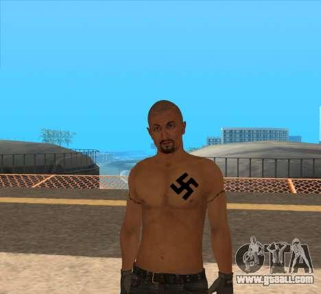 Derek Vinyard: American history X for GTA San Andreas second screenshot