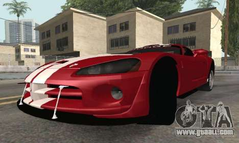 Dodge Viper Competition Coupe for GTA San Andreas right view