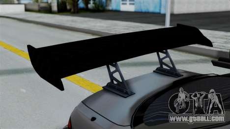 Nissan Silvia S14 Stance for GTA San Andreas inner view