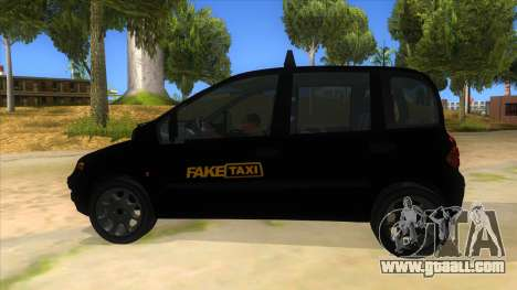 Fiat Multipla FAKETAXI for GTA San Andreas left view