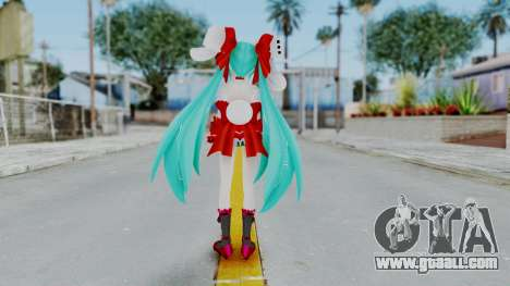 Hatsune Miku (Rabbit Girl) for GTA San Andreas third screenshot