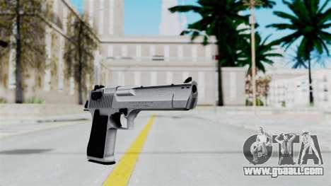 Pouxs Desert Eagle v2 Chrome for GTA San Andreas second screenshot