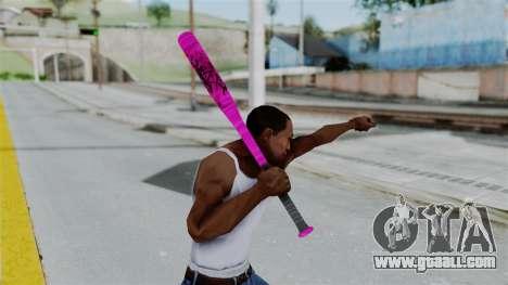 GTA 5 Baseball Bat 4 for GTA San Andreas third screenshot