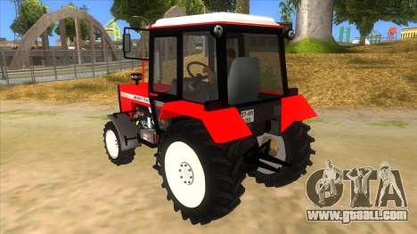 Massley Ferguson Tractor for GTA San Andreas back left view