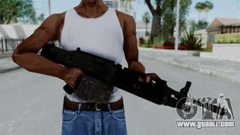 GTA 5 Combat MG for GTA San Andreas