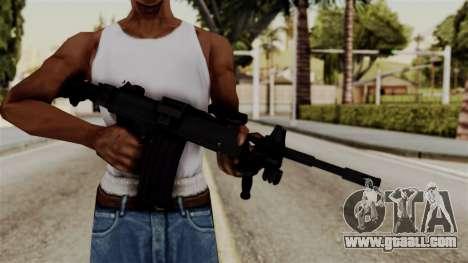 IMI Negev NG-7 for GTA San Andreas third screenshot