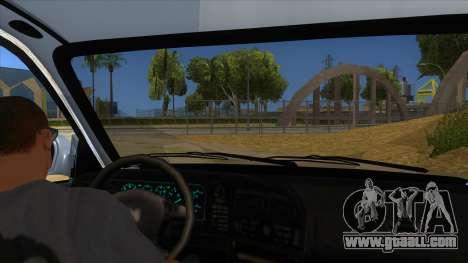 Honda Accord Sedan 1997 for GTA San Andreas inner view