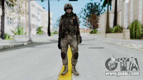 Crysis 2 US Soldier 1 Bodygroup B for GTA San Andreas second screenshot