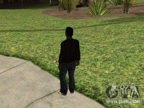 Black Madd Dogg (Thug life) for GTA San Andreas second screenshot