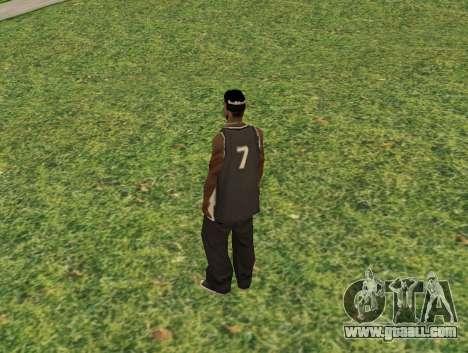 Black fam3 for GTA San Andreas second screenshot