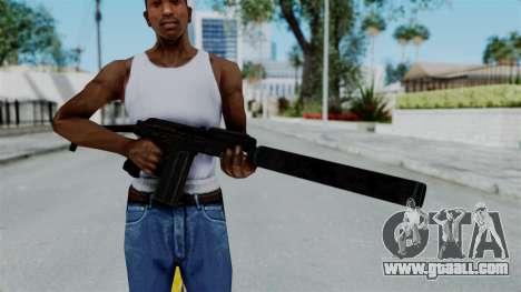 9A-91 Suppressor for GTA San Andreas third screenshot