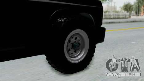Aro 240 1996 for GTA San Andreas back left view