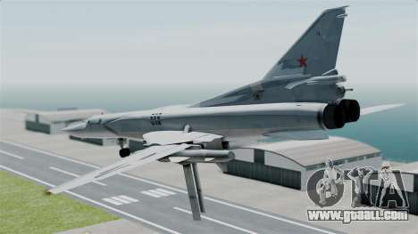TU-22M3 for GTA San Andreas right view