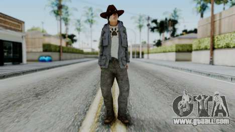 Carl Grimes from The Walking Dead for GTA San Andreas second screenshot