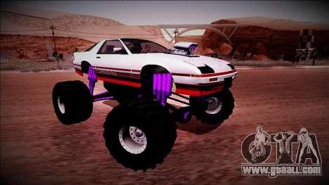 GTA 5 Imponte Ruiner Monster Truck for GTA San Andreas upper view