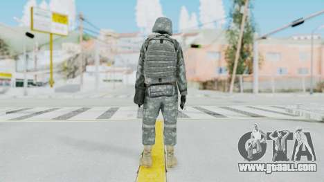 Acu Soldier 5 for GTA San Andreas third screenshot