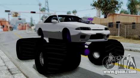 Nissan Skyline R32 Monster Truck for GTA San Andreas