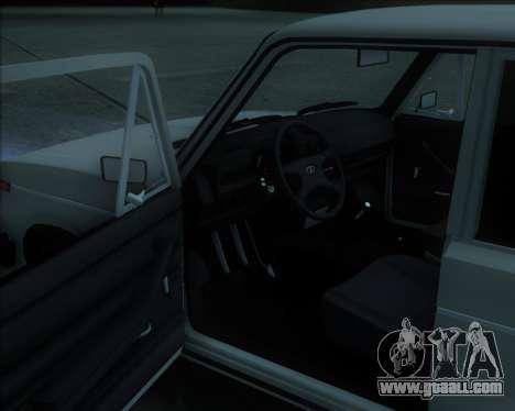 VAZ 2106 Stoke for GTA San Andreas left view