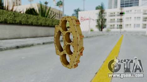 The Ballas Knuckle Dusters from Ill GG Part 2 for GTA San Andreas