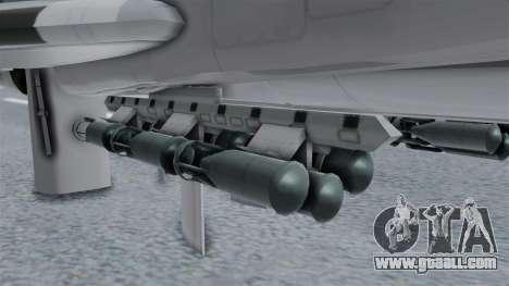 TU-22M3 Grey for GTA San Andreas right view