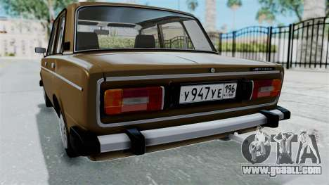 VAZ 2106 for GTA San Andreas upper view