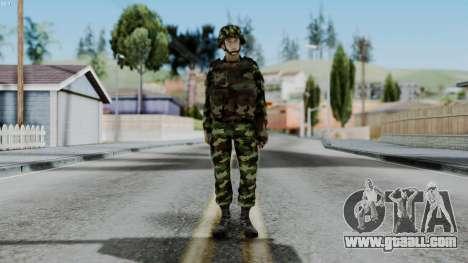 Srpski Vojnik 1999 for GTA San Andreas second screenshot