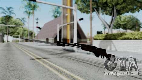 No More Room in Hell - Simonov SKS for GTA San Andreas second screenshot