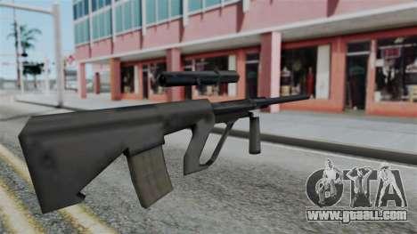 Vice City Beta Steyr Aug for GTA San Andreas second screenshot