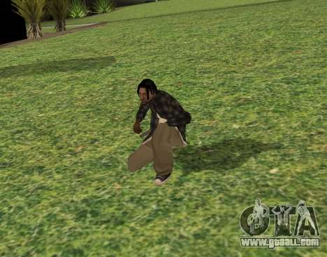 Black fam2 for GTA San Andreas third screenshot