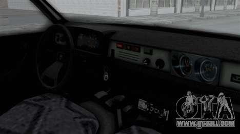 Dacia 1310 TX for GTA San Andreas back view