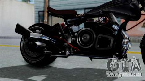Turbike 2.0 for GTA San Andreas right view