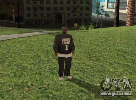 Black fam1 for GTA San Andreas