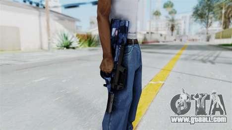 P90 Camo3 for GTA San Andreas third screenshot